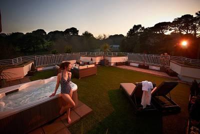 St Pierre Park Hotel + Golf Resort - Junior Suite Hot Tub
